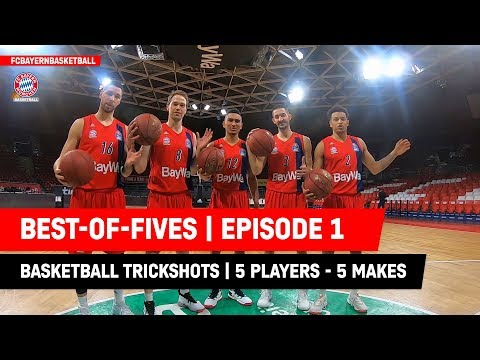 Best-of-Fives | Ep1 | FC Bayern Basketball Trickshot Tuesday
