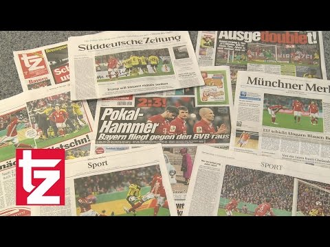 """""""Die nächste Watschn!"""" – Pressestimmen zur Pleite des FC Bayern gegen den BVB (DFB-Pokal)"""