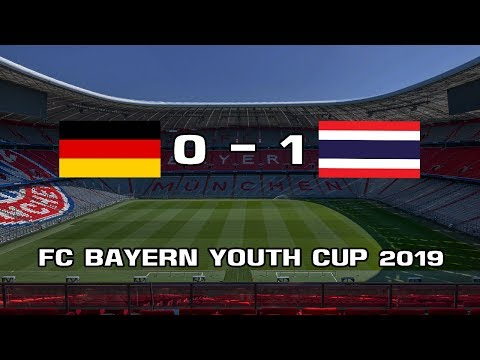 THAILAND 1 – 0 Bayern Munich [Group B] ● FC Bayern Youth Cup 2019