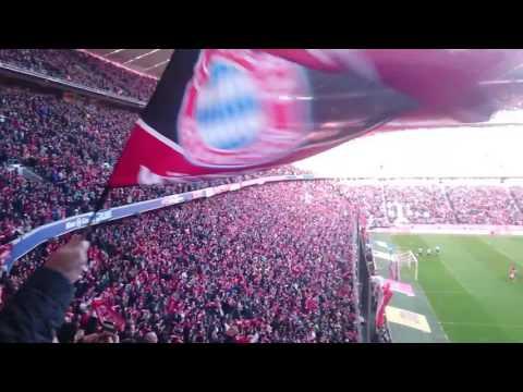 Fc Bayern Munchen goal celebration