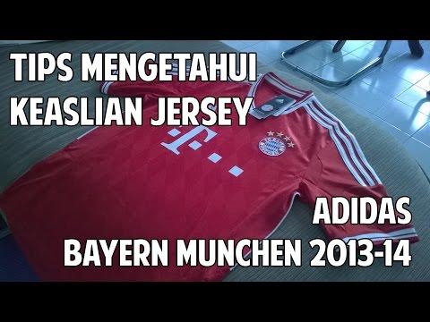 Tips Membedakan Jersey adidas ORI dan Grade ORI (Bayern Munchen Home Kit 2013/2014)