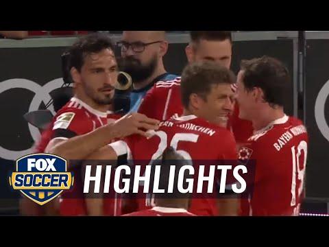 Bayern Munich vs. Bayer Leverkusen | 2017-18 Bundesliga Highlights