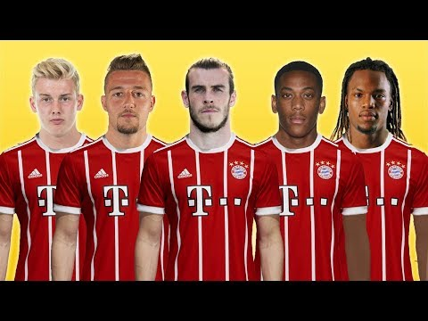 FC Bayern Munich – Top 10 Transfer Targets Summer 2018