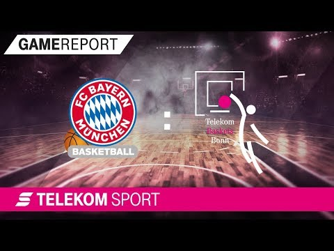 FC Bayern Basketball – Telekom Baskets Bonn | 4. Spieltag, 18/19 | Telekom Sport