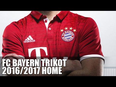 FC Bayern Trikot 2016 2017 Heim (Bayern München Trikot)