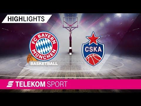 FC Bayern Basketball – ZSKA Moskau | 7. Spieltag, 18/19 | Telekom Sport