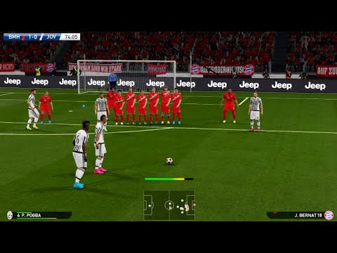 PES 2016 Demo PS4 Gameplay – FC Bayern Munich Vs Juventus F.C