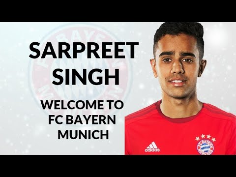 SARPREET SINGH – Welcome to FC Bayern Munich – Skills & Goals (HD)