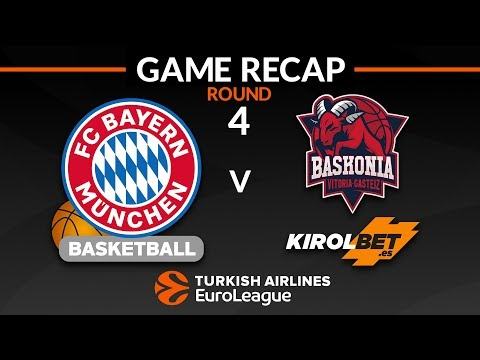Highlights: FC Bayern Munich – KIROLBET Baskonia Vitoria-Gasteiz