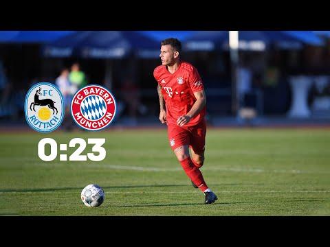 FC Rottach-Egern – FC Bayern München 0:23 | Volle Länge | Testspiel