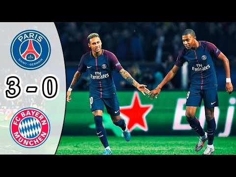 PSG vs Bayern Munich 3-0 | All Goals & Highlights | UCL 2017/18