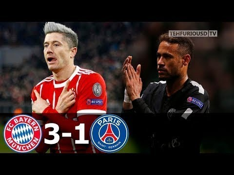 Bayern Munich vs Paris Saint Germain (3-1) – All Goals & Highlights HD 2017