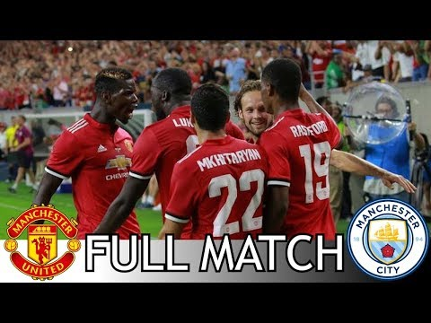 Live Match : Manchester United Vs Manchester City | International Champions Cup 2017