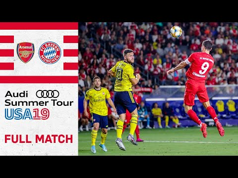 Full Match | Arsenal FC vs. FC Bayern 2-1 | International Champions Cup 2019