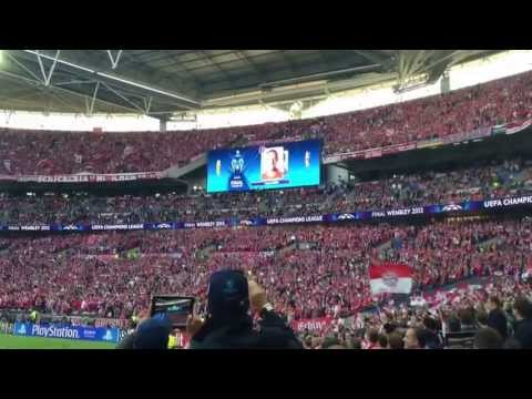 Champions League 2013 final – Bayern introduction