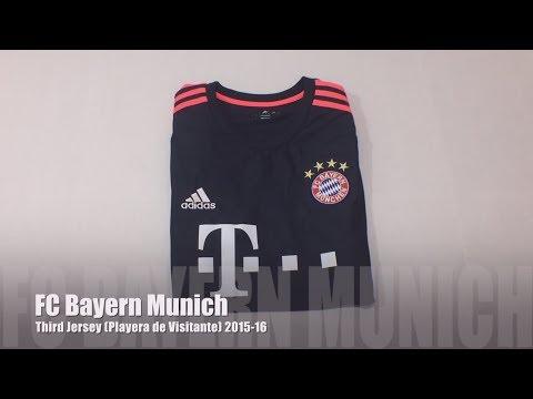 FC Bayern Munich Third Jersey 2015-16 (Tercer Uniforme)