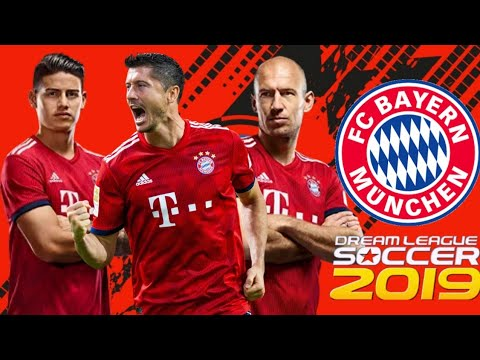 Download Data Game Dream League Soccer 2019 Mod Bayern Munchen fc