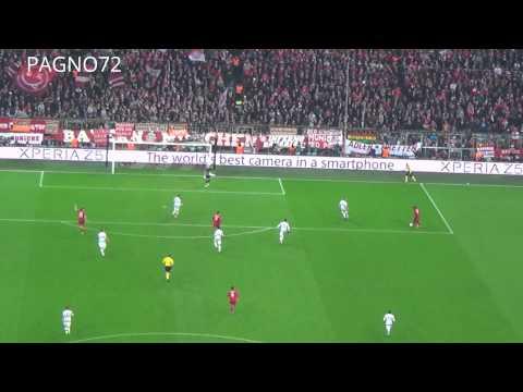 Bayern Munich Vs JUVENTUS  Goal Coman 4-2