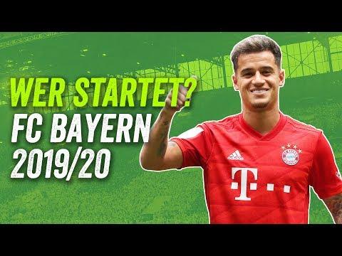 Passt Coutinho ins Kovac-System? FC Bayern Startaufstellung 2019/20