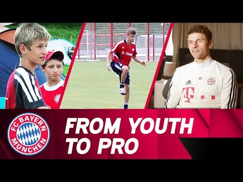 From Youth to Pro – Thomas Müller's Remarkable Career at FC Bayern!