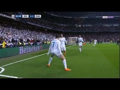 REAL MADRID 3-1 PSG | 1/8 de Finale Aller Ligue des Champions | 2017-2018 ( BEINSPORTS )
