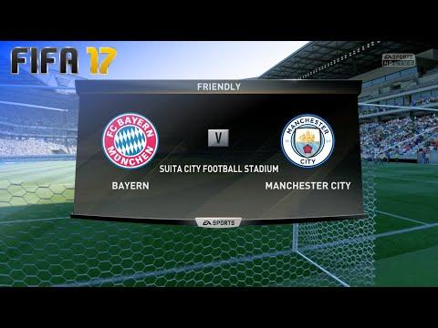FIFA 17 Demo – FC Bayern München vs. Manchester City @ Suita City Football Stadium