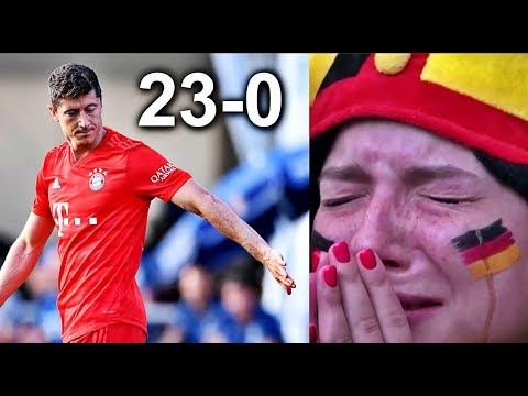 Football Fans Reaction to Bayern Munich 23-0 Rottach-Egern Match