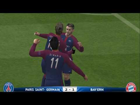 PES 2018 (PS2) PSG vs Bayern Munich – Champions League