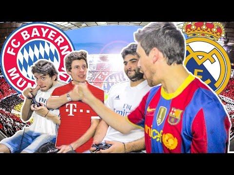 BAYERN MUNICH vs REAL MADRID | Champions League 2017 | FIFA 17