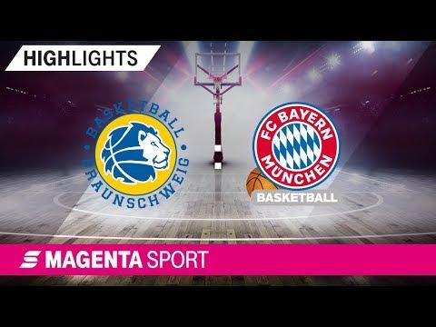 Basketball Löwen Braunschweig – FC Bayern Basketball | Viertelfinale, Spiel 2 | MAGENTA SPORT