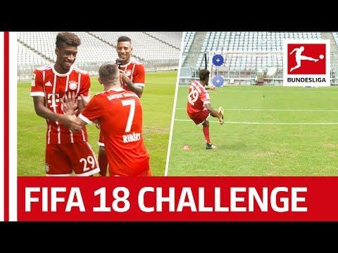 Ribery Bringing French Magic For Bayern – EA Sports FIFA 18 Bundesliga Free Kick Challenge