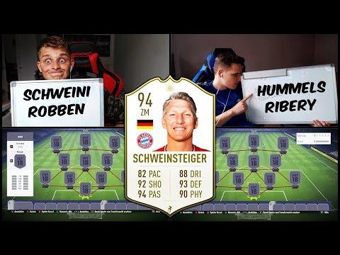 Heftiges SCHWEINSTEIGER Bayern Abschiedsspiel Squad Builder Battle! – Fifa 18 19 Ultimate Team