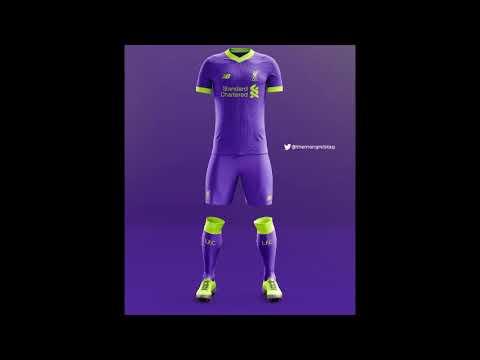 Liverpool FC 18 – 19 Kit Revealed – New Balance Football