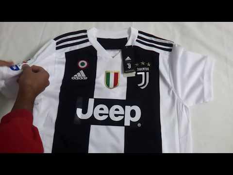 Gogoalshop.co 18-19 Juventus Home Soccer Jersey Shirt Unboxing Review