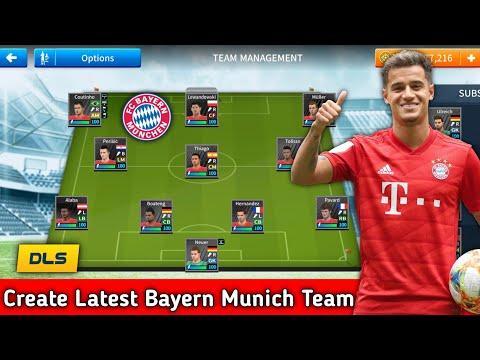 How To Create Latest Bayern Munich Team In Dream League Soccer 2019