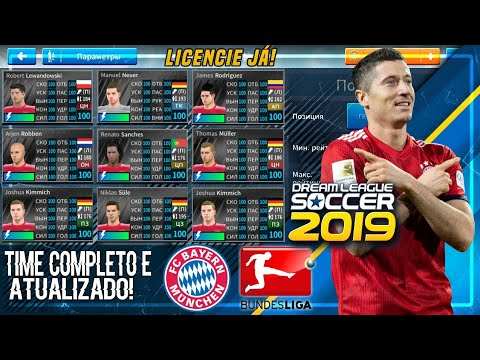 COMO LICENCIAR O TIME DO Bayern München PARA O DREAM LEAGUE SOCCER 19 ATUALIZADO 18/19 SEM HACK