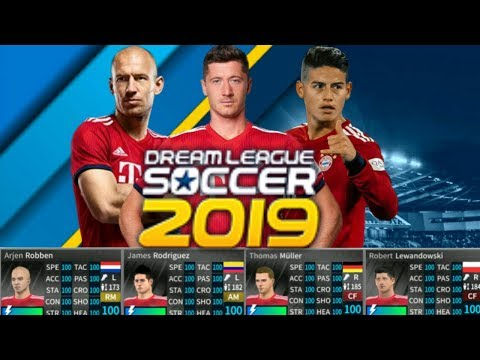 Bayern munich New Update ALL PLAYERS 100 – DREAM LEAGUE SOCCER 2019