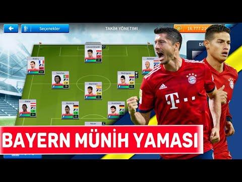 DLS 19 Bayern Münih Yaması! Tüm Kadro Güncel!