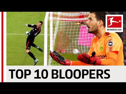 Top 10 Goalkeeper Bloopers 2017/18 So Far …
