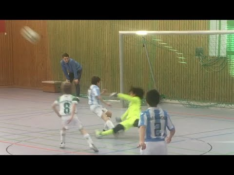 Nine Year Old Goalkeeper Bobby – Never Shown Action 2017