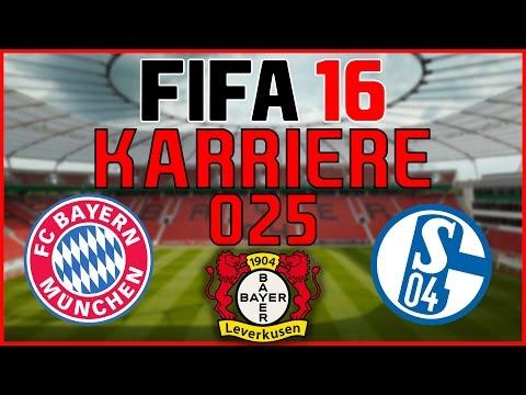 FIFA 16 KARRIERE #025 | FC BAYERN & SCHALKE 04 – FORMTIEF!