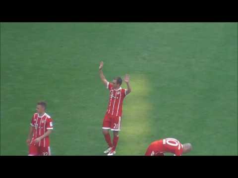 FC Bayern verabschieded Lahm und Alonso…