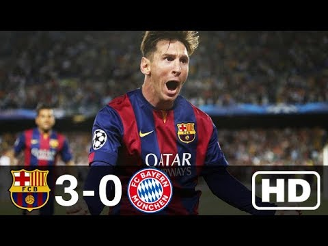 Barcelona vs Bayern Munich 3-0 Highlights – UCL 2014/2015