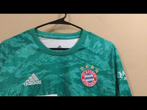 Minejerseys Bayern Munich Goalkeeper Jersey 2019/20 unboxing review