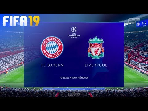 FIFA 19 – FC Bayern München vs. Liverpool @ Allianz Arena