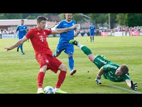 HISTÓRICO! Bayern de Munique 23 vs 0 Fc Rottach -Egern! pré temporada 08/08/2019