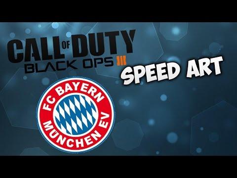 Black Ops 3 | Emblem Speed Art FC BAYERN MUNCHEN