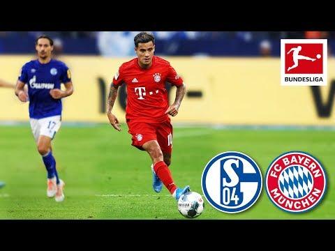 Coutinho's First Match for Bayern – FC Schalke 04 vs. FC Bayern München I 0-3 I Highlights