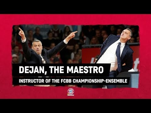 🎶 DEJAN, THE MAESTRO | FC Bayern Basketball Championship Ensemble | Radonjic Sideline Moves