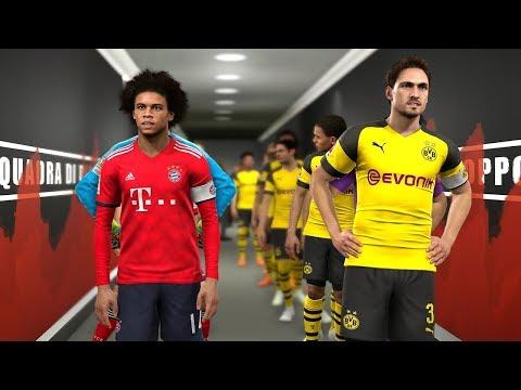 Borussia Dortmund vs Bayern Munich – Potential Lineup Season 2019/20